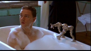 Martin Freeman bubble bath
